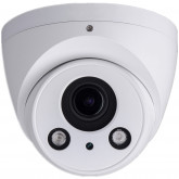 GOLIATH IP 4 Megapixel Full-HD Dome Überwachungs-Kamera, Motorzoom, 60m IR, PoE, microSD-Karten Slot