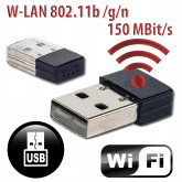 USB Wifi Stick W-Lan Adapter Wireless Adapter WLAN 150 Mbps für GOLIATH Rekorder